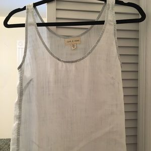 Anthropologie Cloth and Stone tank